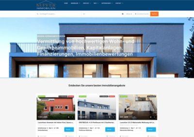 Projekt: Kupfer Immobilien