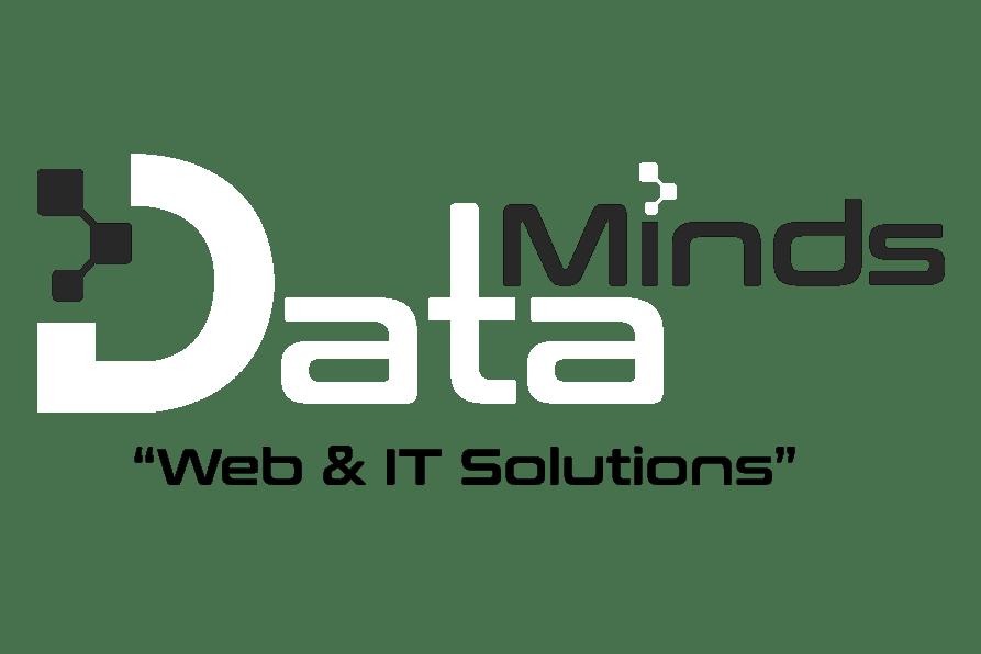 Data Minds schwarzweiß