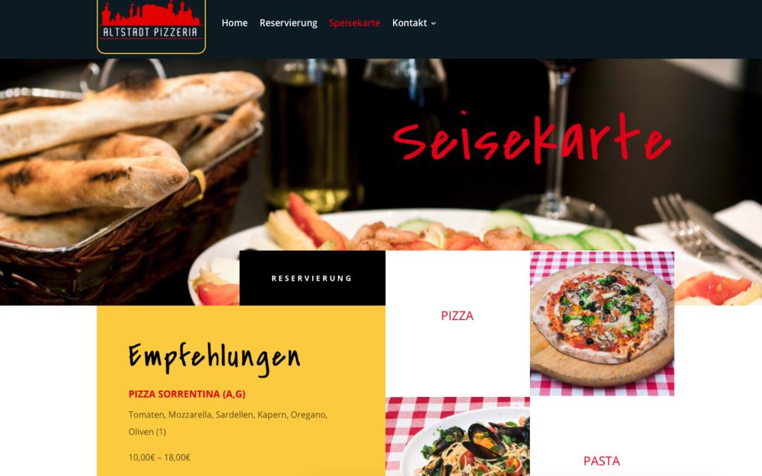 Projekt: Altstadt Pizzeria Nürnberg