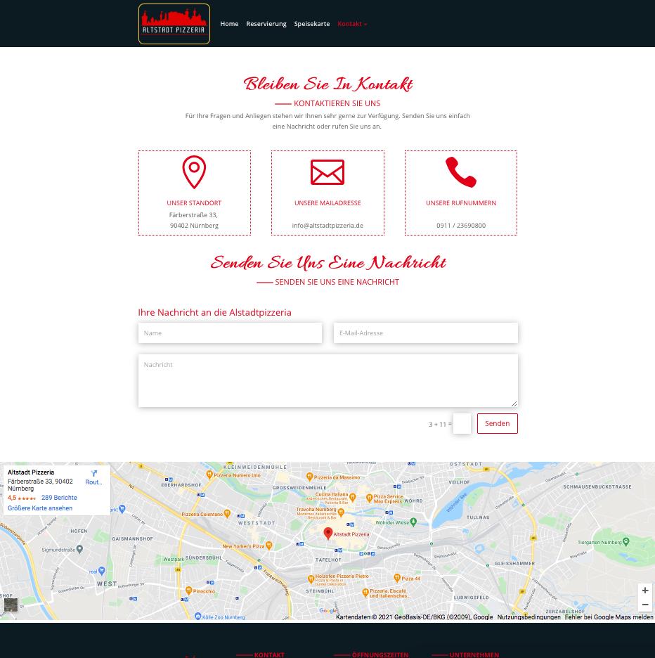 User Interface von Kupfer Immobilien